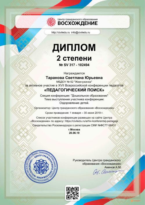 диплом конференция